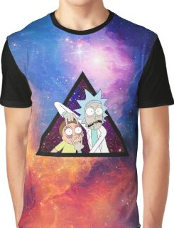 Rick and morty spaceeee. Graphic T-Shirt
