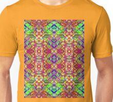 Fractal Art Stained-Glass Unisex T-Shirt