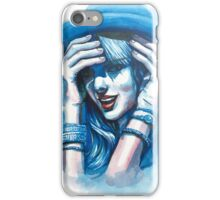 The portrait of Taylor iPhone Case/Skin