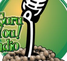 Le Guru is You! Radio Sticker