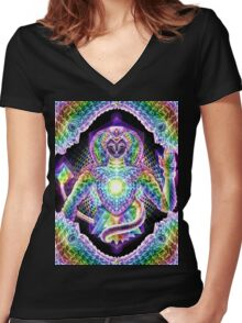 Gifts of Nature Women's Fitted V-Neck T-Shirt