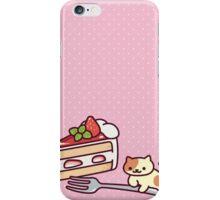Neko Atsume Peaches iPhone Case/Skin