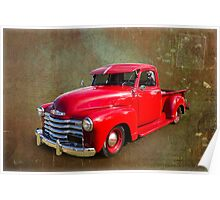 Red Chev Poster