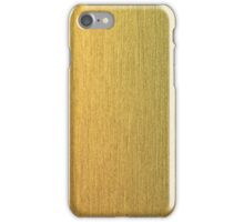 Golden texture iPhone Case/Skin