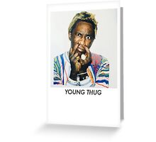 Young Thug Greeting Card