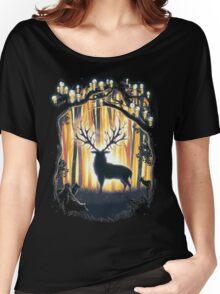 Deer God  Women's Relaxed Fit T-Shirt