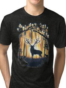 Deer God  Tri-blend T-Shirt