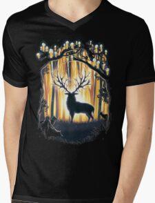 Deer God  Mens V-Neck T-Shirt