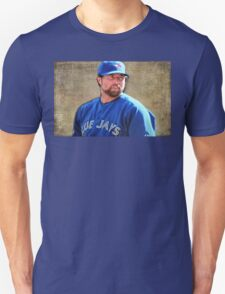 R.A. Dickie Waits To Wind Up A Knuckle Ball Unisex T-Shirt
