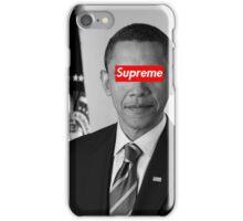 Supreme Obama iPhone Case/Skin