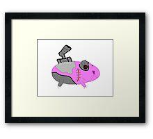 Cyborg Guinea Pig Framed Print