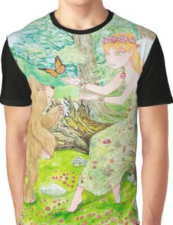 Spring Forest Graphic T-Shirt