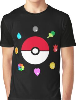 Indigo League Graphic T-Shirt