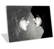 Rainy Mirror Girl Laptop Skin