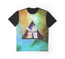 Rick and morty spaceeee. 4 Graphic T-Shirt