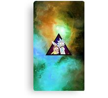 Rick and morty spaceeee. 4 Canvas Print