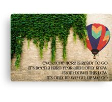 Lights - Up We Go Canvas Print