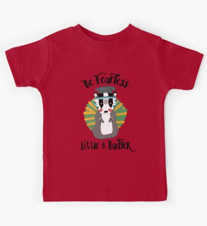 Woodland Badger Kids Tee