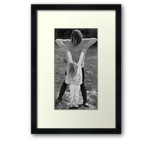 Mother and her child Framed Print