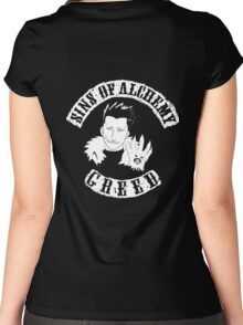 Sins of Alchemy - Greed v2 Women's Fitted Scoop T-Shirt