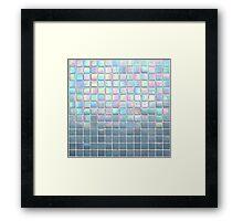 Tile Reflection Framed Print