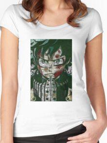 Izuku Midoriya - Boku no Hero Academia | My Hero Academia Women's Fitted Scoop T-Shirt