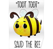 """""""Toot, Toot"""" Poster"""