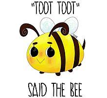 """Toot, Toot"" Photographic Print"