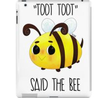 """Toot, Toot"" iPad Case/Skin"