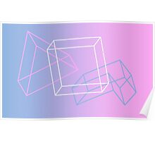 Colorful Shapes Poster