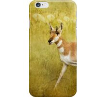 Pronghorn Poster - Grand Tetons iPhone Case/Skin