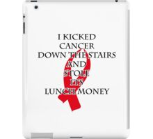 Cancer Bully (Red Ribbon)  iPad Case/Skin