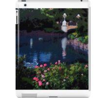 Garden of Water, Photo / Digital Painting iPad Case/Skin