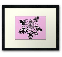 Magnolia 'Merica Framed Print