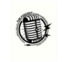Txr Podcast Art Print