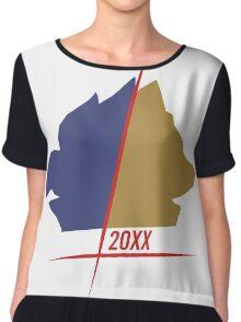 20XX Minimalist Chiffon Top