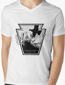 UpLand Country Logo Mens V-Neck T-Shirt