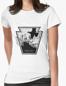 UpLand Country Logo Womens Fitted T-Shirt