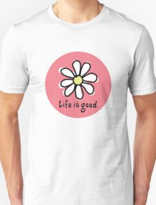 Life is Good Red T-Shirt