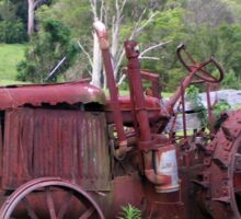 Old Farm Tractor Nambucca Valley NSW Sticker