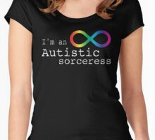 Autistic Sorceress Women's Fitted Scoop T-Shirt