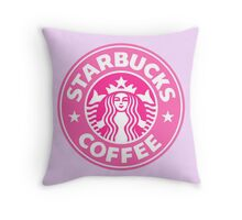 starbucks Throw Pillow