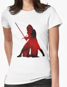 Kylo Ren - Star Wars Womens Fitted T-Shirt