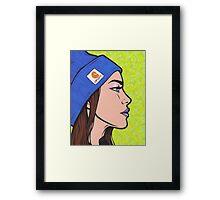 Carhartt Girl Framed Print