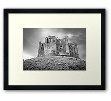 Warkworth Castle, Northumberland, England Framed Print