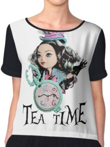 Tea Time Chiffon Top