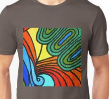 tropical foliage artwork Unisex T-Shirt