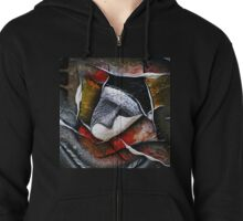 Two Sides of Self Zipped Hoodie