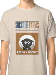 "Delbert says, ""RESIST - DISOBEY"" Classic T-Shirt"