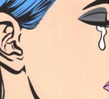 Turtleneck Tears Sticker